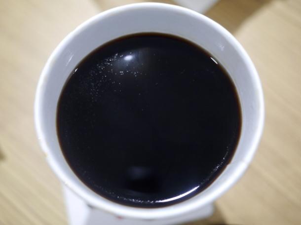 black Vietnamese coffee at viet baguette