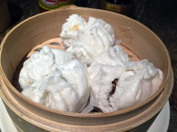 cha siu bao at the duck and rice