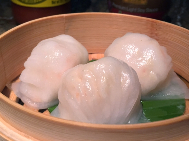 har gau at the duck and rice