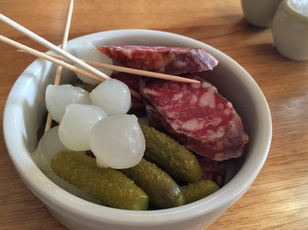 cornish salami at oldroyd