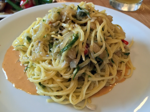 crab tagliarini at oldroyd