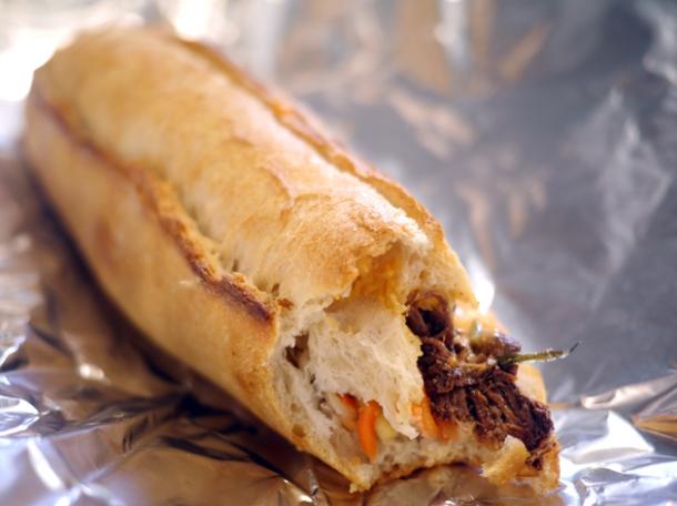 beef brisket sandwich from moba