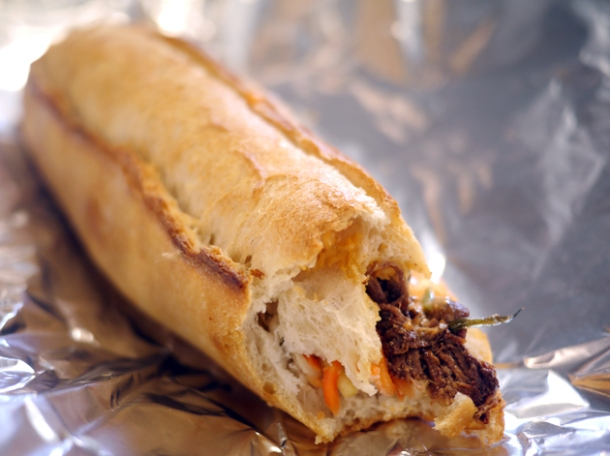 beef brisket sandwich from moba