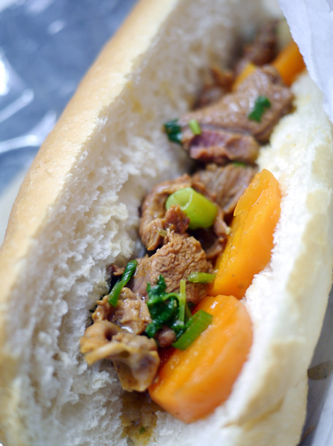 beef stew and baguette from from banh mi town