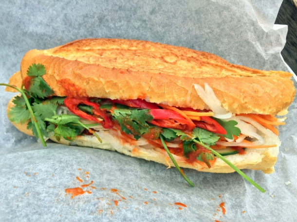 ho to go pork banh mi from house of ho