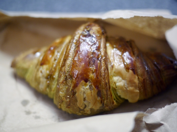 green tea croissant from moba