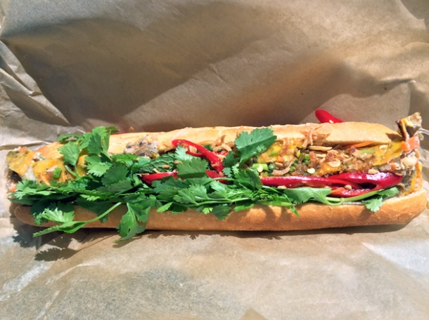 take away banh mi from little viet kitchen