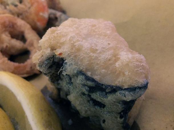 deep fried cod at vico