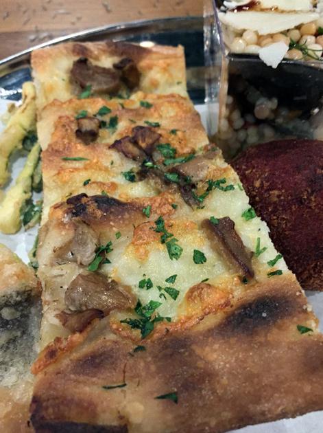 porcini pizza at vico