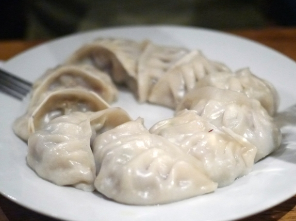 steamed veg momos at kailash momo