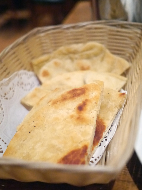 tibetan bread at kailash momo