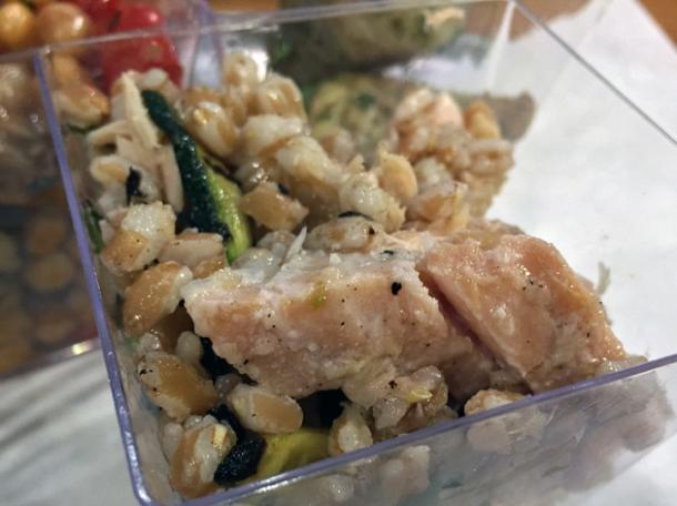 trout salad at vico