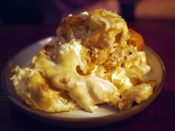 banana pudding at shotgun