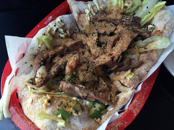 mission chinese wing spice doner at black axe mangal