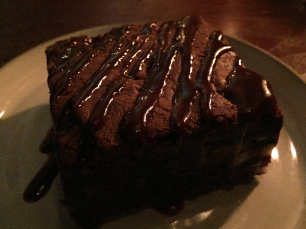 pecan brownie at shotgun