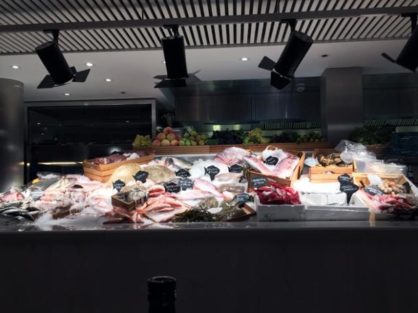 seafood at milos london