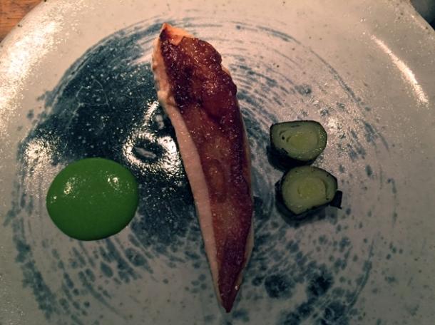chicken with leeks at nobelhart and schmutzig