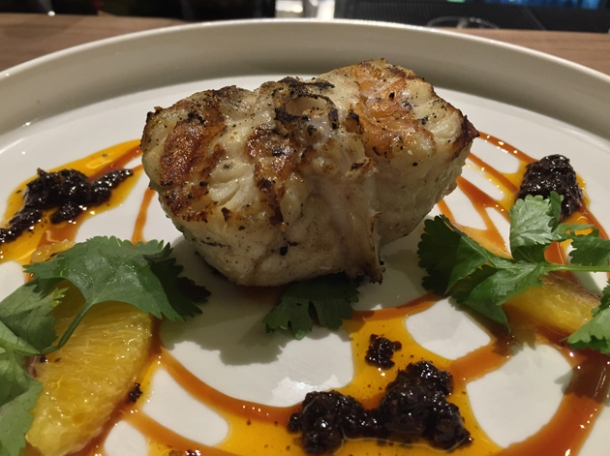 monkfish at oklava