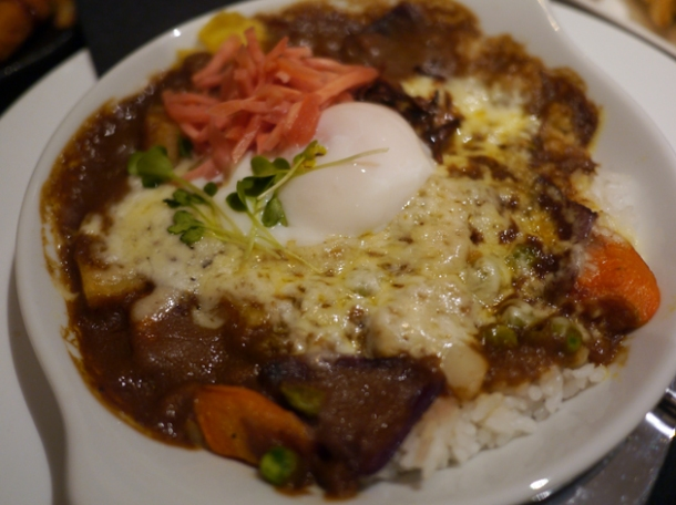 vegetable japanese curry at nanban