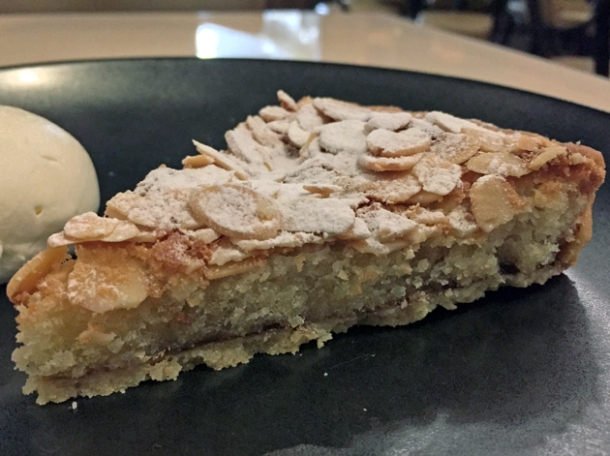 almond tart at piquet