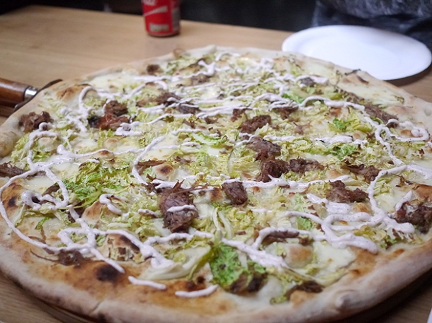 goat shoulder pizza at homeslice