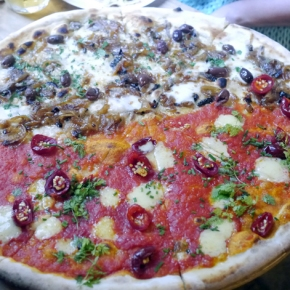 Homeslice Fitzrovia review – cheap and huge Tottenham Court Road pizzas