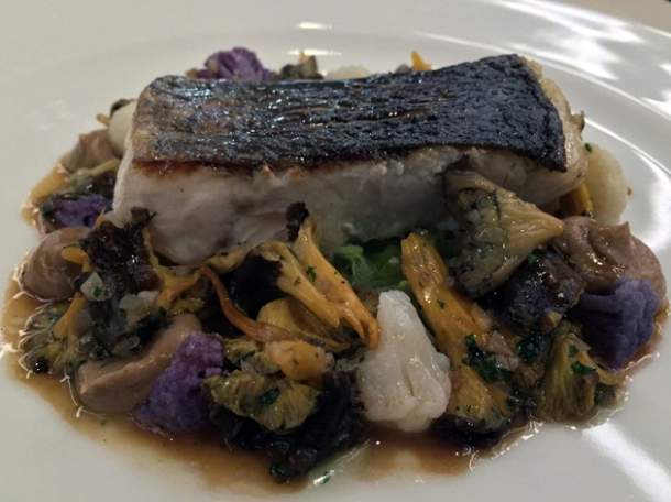 pot roast sea bass at piquet