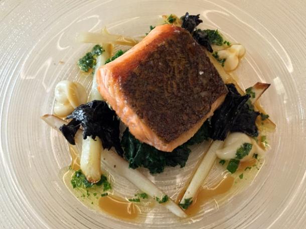 salmon at piquet