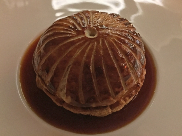 snail pithivier at piquet