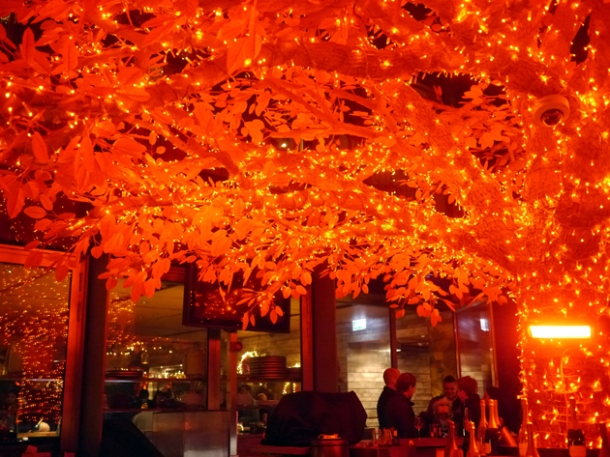 tree bar at sushisamba heron tower