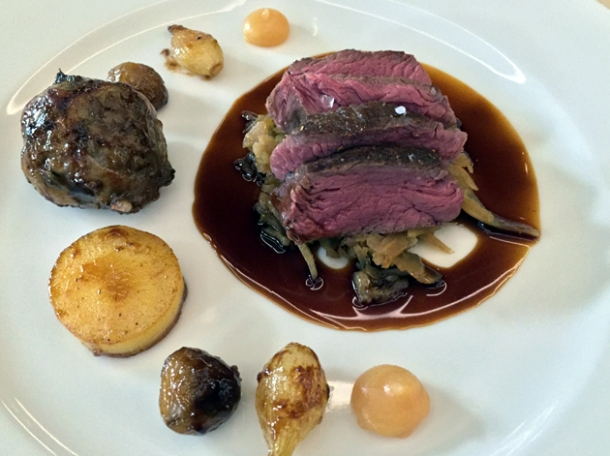 venison loin at piquet london