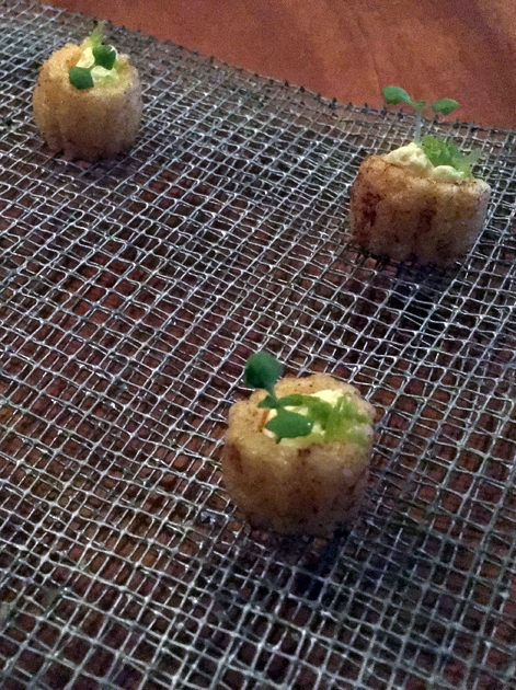 crunchy corn crackers at benazuza