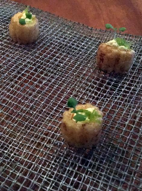 crunchy corn crackers at benazuza