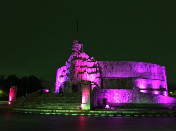 fatherland monument merida