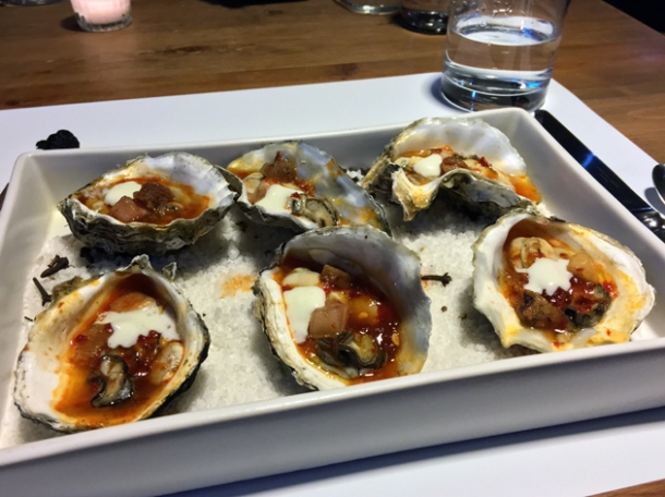 oysters at nudo negro