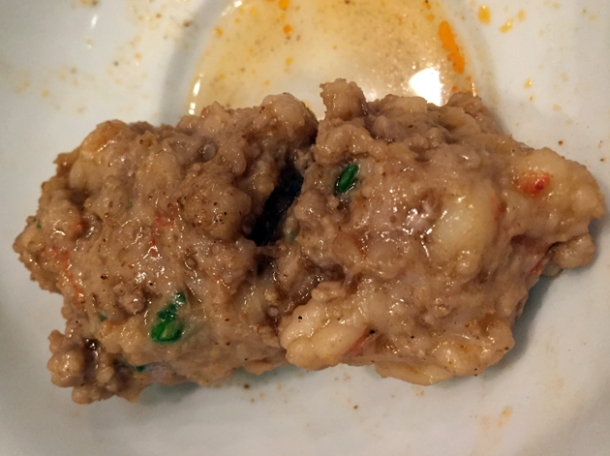 pork and prawn loaf at shuang shuang
