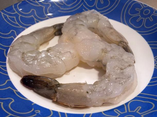prawns at shuang shuang