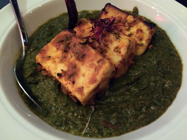 saag paneer at gunpowder