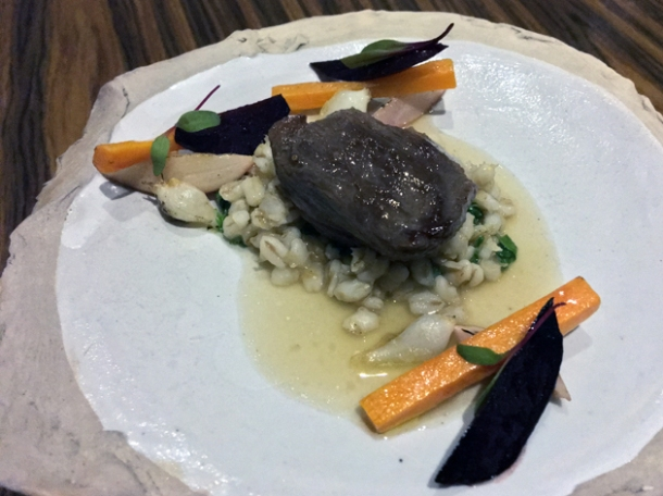 venison with barley at kuuk