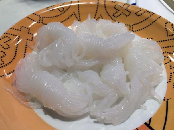 yam noodles at shuang shuang
