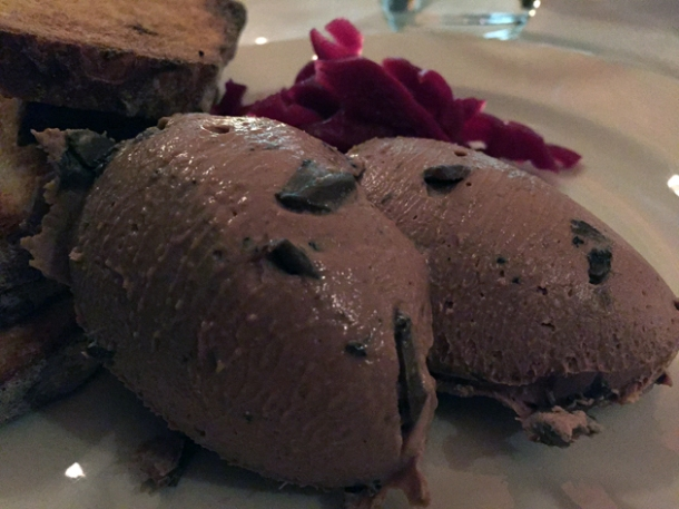 pork liver pate at hill and szrok pub