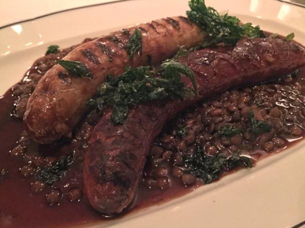 sausages at bellanger