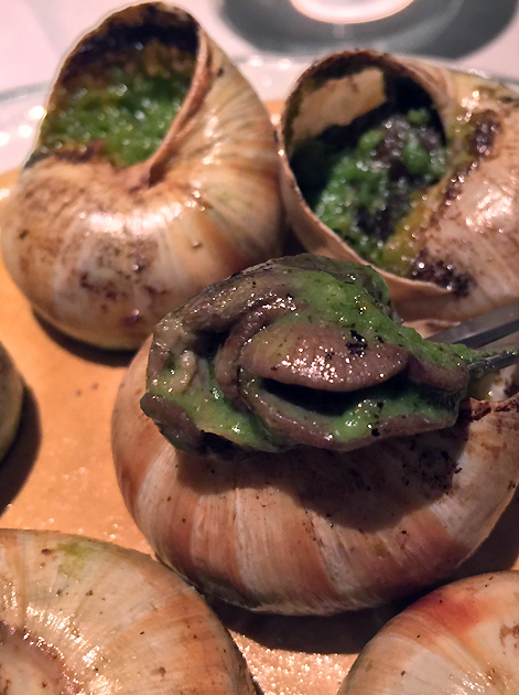 snails at bellanger islington