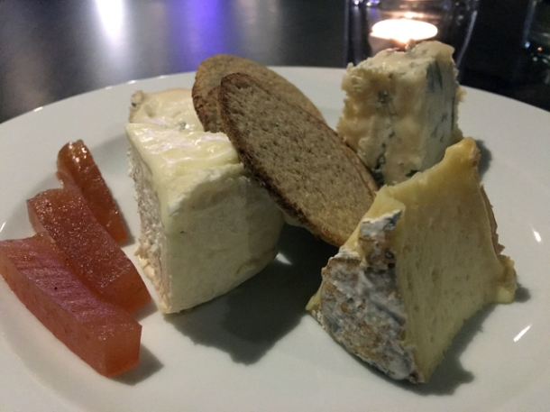 cheeses at osteria barbican