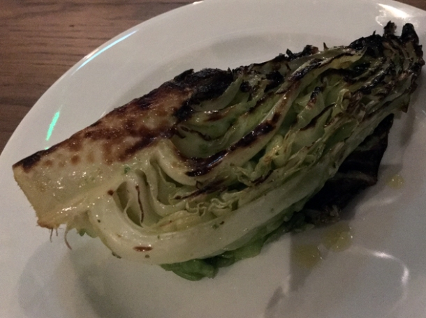 hispi cabbage at pitt cue devonshire square