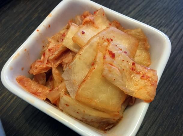 kimchi at bibimbap charlotte street