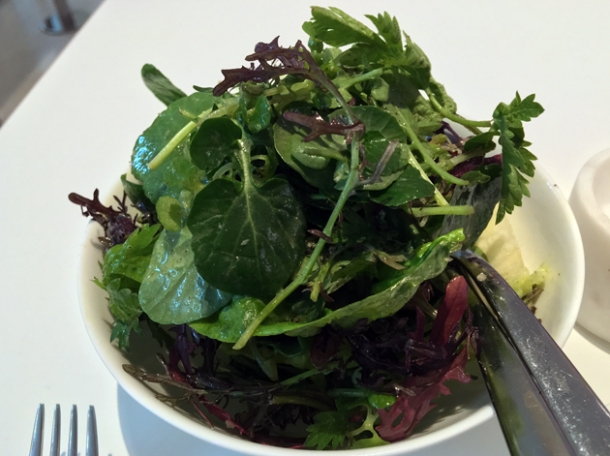 lettuce and herb salad at pharmacy 2