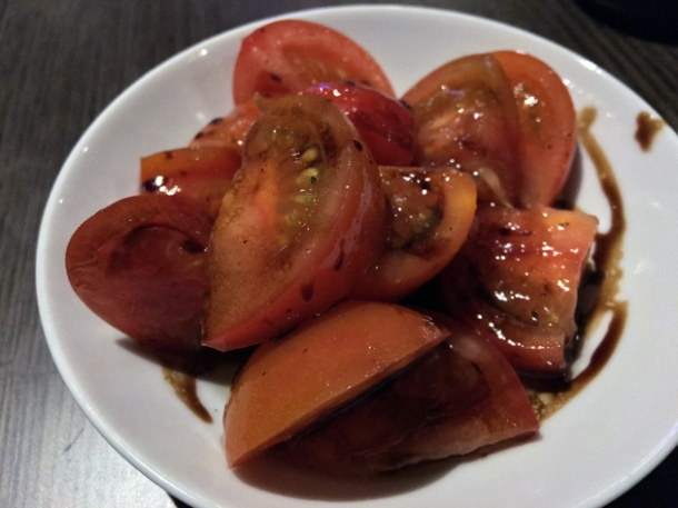 tomatoes at osteria barbican