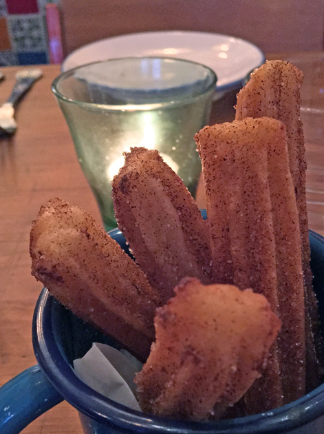churros at santo remedio shoreditch