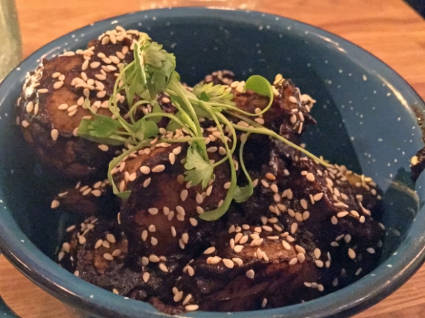 mole potatoes at santo remedio